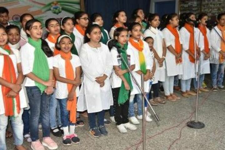 St PaulS Higher Secondary School-Group Singing