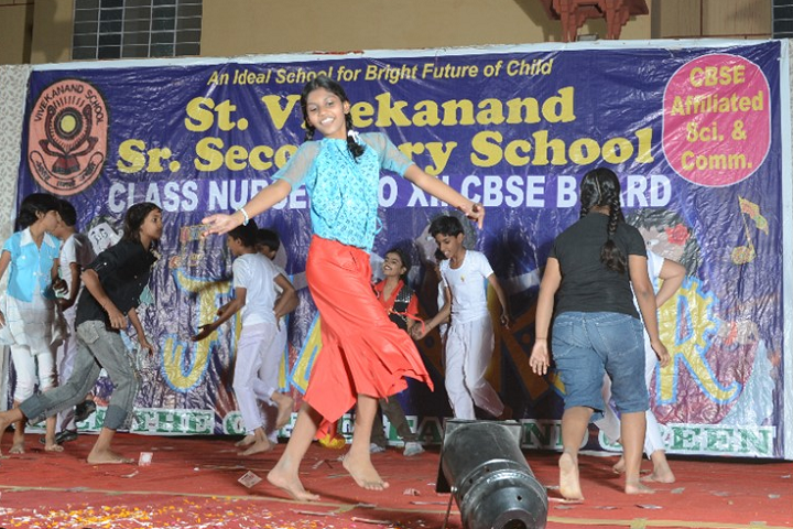 St Vivekanand Senior Secondary School-Events dance