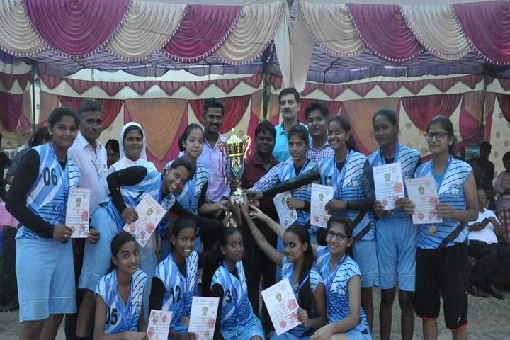 St Xaviers School-Sports Team