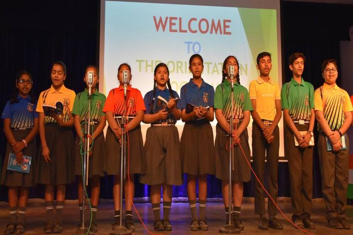 St Xaviers School-Singing