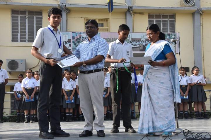 St Xaviers School-Prize