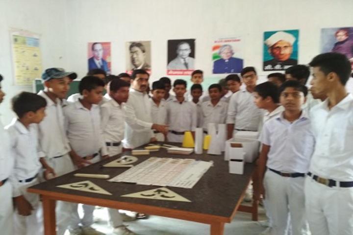 Mahaviri Saraswati Vidya Mandir-Maths Lab