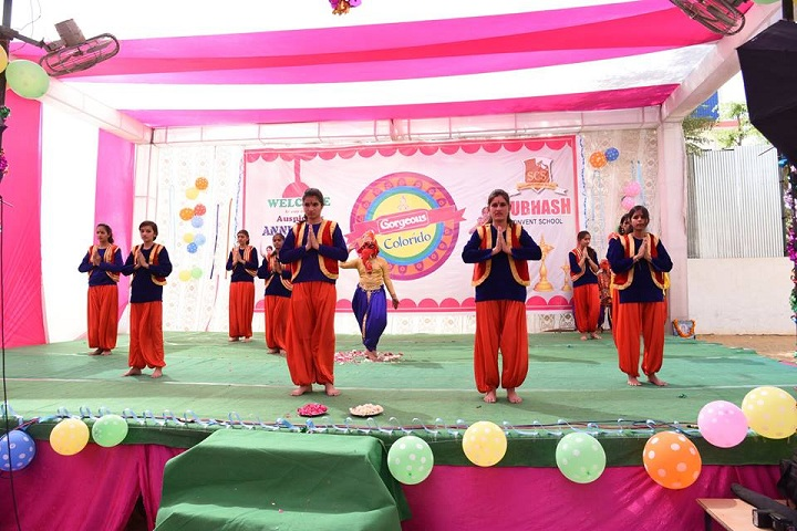 Subhash Convent School-Events Programme