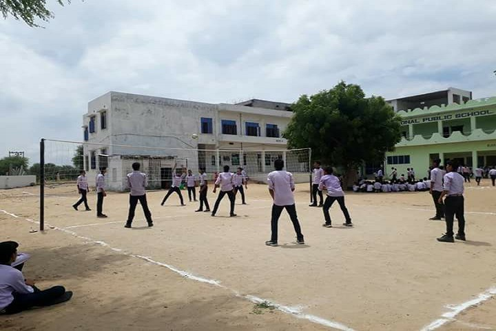 Sunrise International Public School-Vollyball