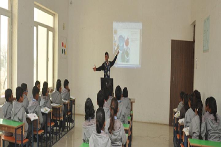 Sunrise Public School-Classroom smart