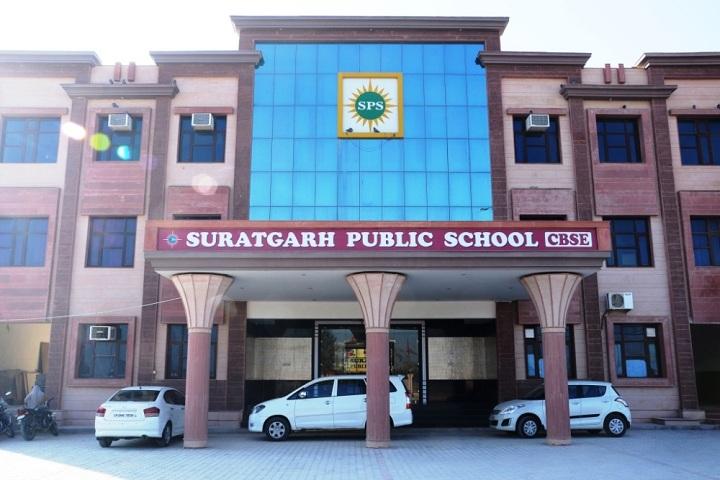Suratgarh Public School-Campus-View front