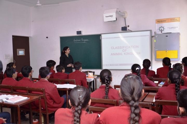 Suratgarh Public School-Classroom smart