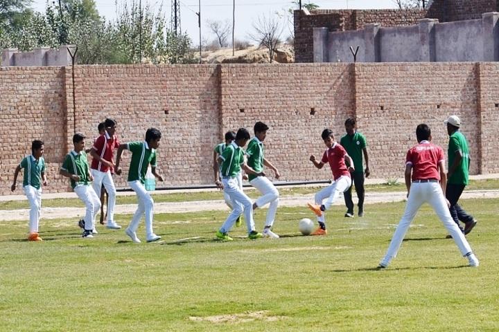 Suratgarh Public School-Sports football