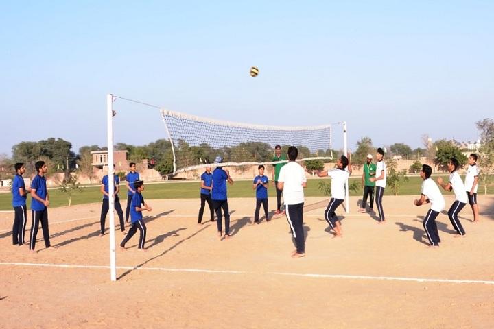 Suratgarh Public School-Sports vollyball