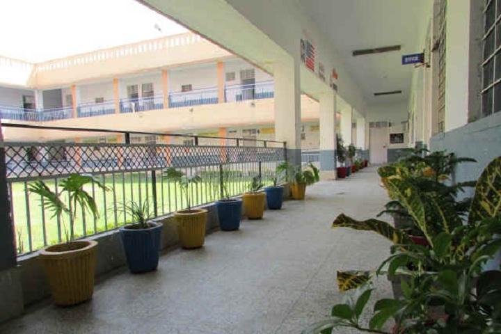 Suratgarh Thermal Dav Public School-Campus-View inside