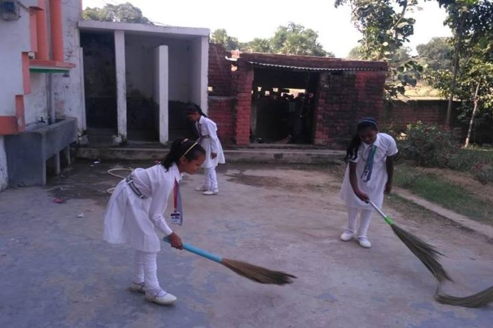Manas International Public School-Cleaning Session