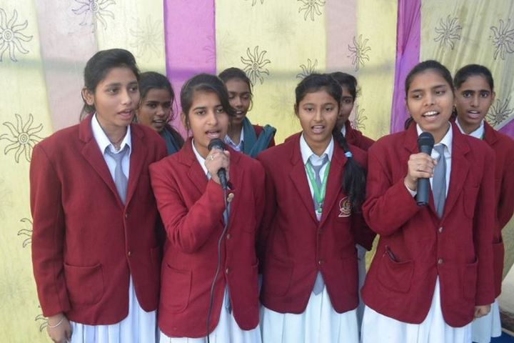 Manas International Public School-Singing