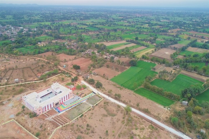 Swami Vivekanand Government Model School-School Arial View