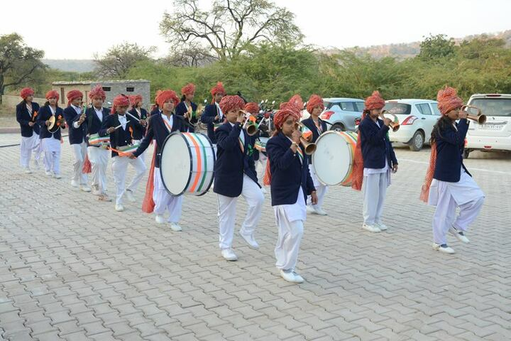 Swami Vivekanand Government Model School-Band Troop