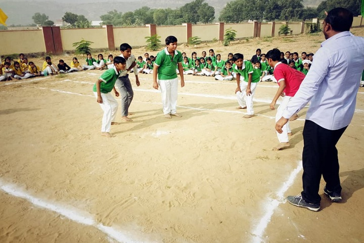 Swami Vivekanand Government Model School-Kabaddi