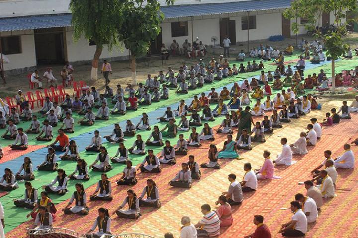 Manas Vidyalaya-Yoga day