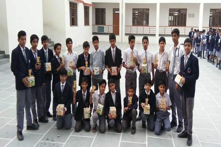 Swami Vivekanand Government Model School-Awards