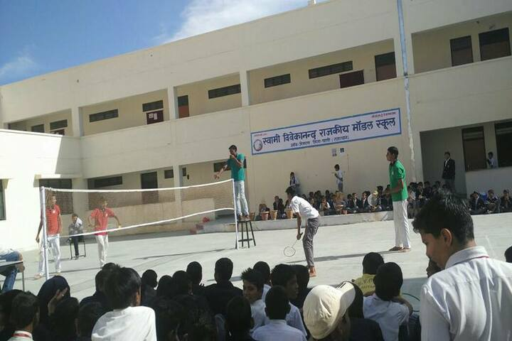 Swami Vivekanand Government Model School-Badminton