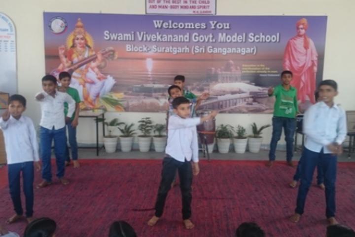 Swami Vivekanand Government Model School-Dance