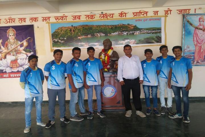 Swami Vivekanand Govnvernment Model School-Sports Team