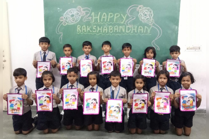 Drawing Activity on Raksha Bandhan Day