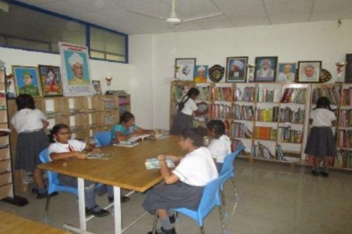 Bharatiya Vidya Bhavans Residential Public School-Library