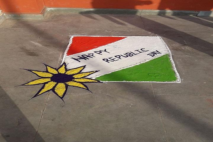 Swami Vivekanand Government Model School-Republic Day Celebration