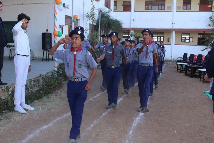 Swami Vivekanand Government Model School-NCC