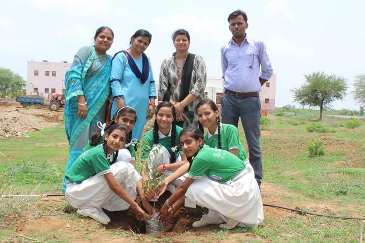 Swami Vivekanand Government Model School-Tree-Plantation