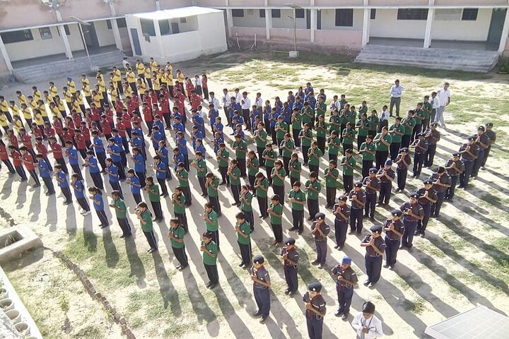 Swami Vivekanand Government Model School-Morning-Assembly
