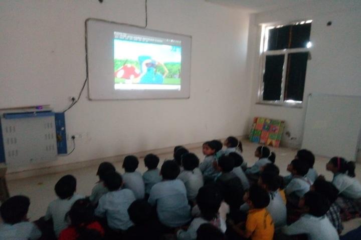 Tagore English Academy-Smart Classroom