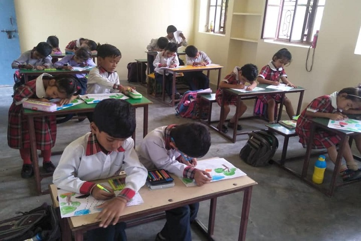 Tagore Public Senior Secondary School-Classroom