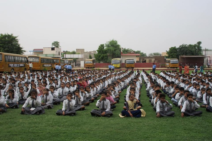 Tagore Public Senior Secondary School-Yoga Day