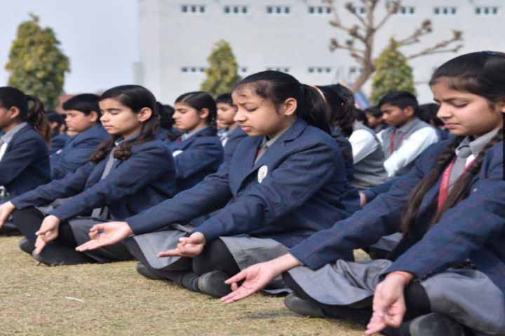 Tagore Public Senior Secondary School-Yoga
