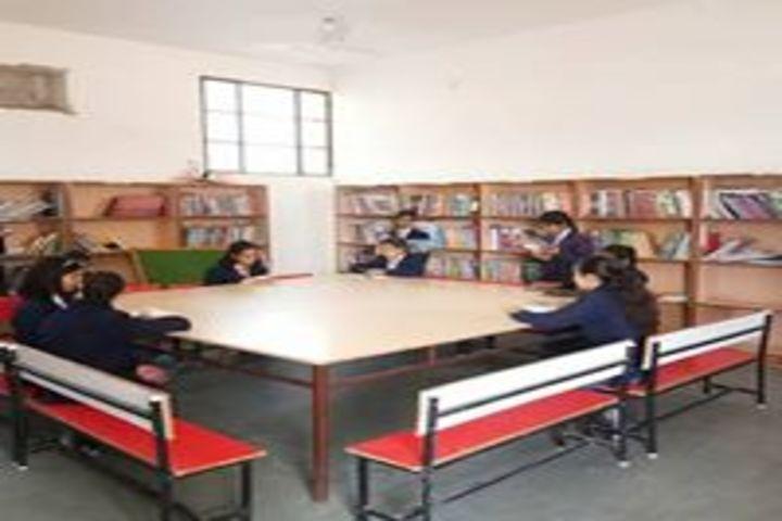Taj Global Academy-Library