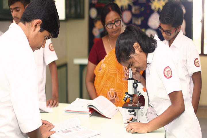 The Sagar School-Biology Lab