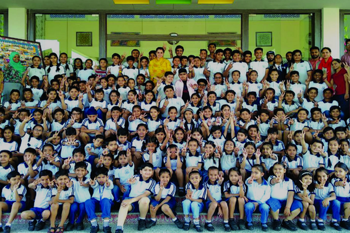 The Shanti Niketan School-Group Photo