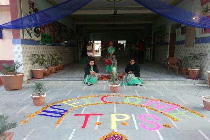 Times Public School-Rangoli