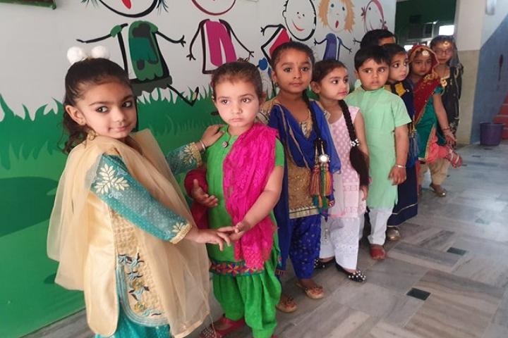 Tiny Tots School-Festival Celebration