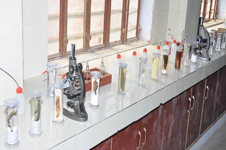 V M Public School-Biology Lab