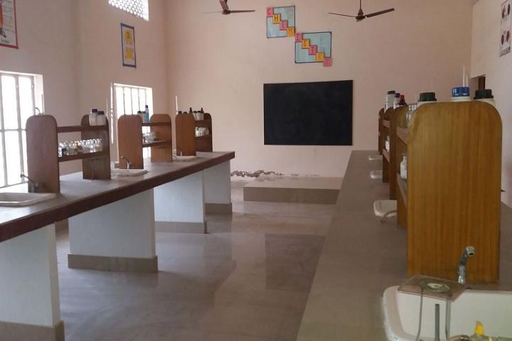 V M Public School-Science Lab