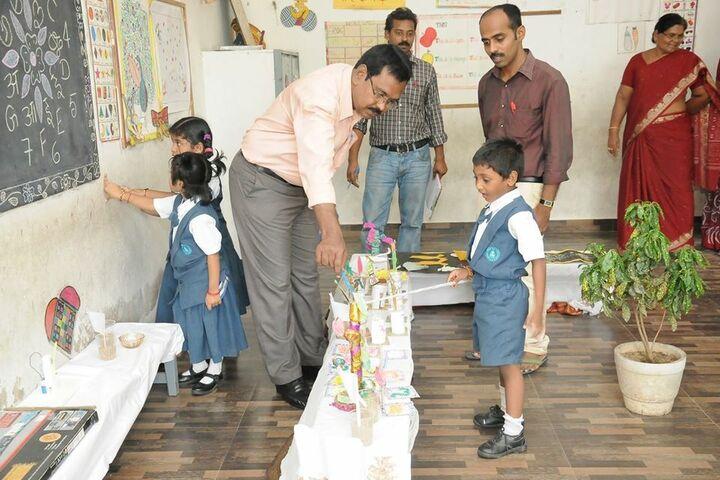 Bharatiya Vidya Bhavans Vidyashram-Art Exhibition