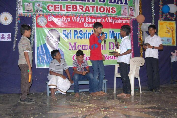 Bharatiya Vidya Bhavans Vidyashram-Drama