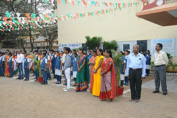 Bharatiya Vidya Bhavans Vidyashram-Independence Day Celebrations