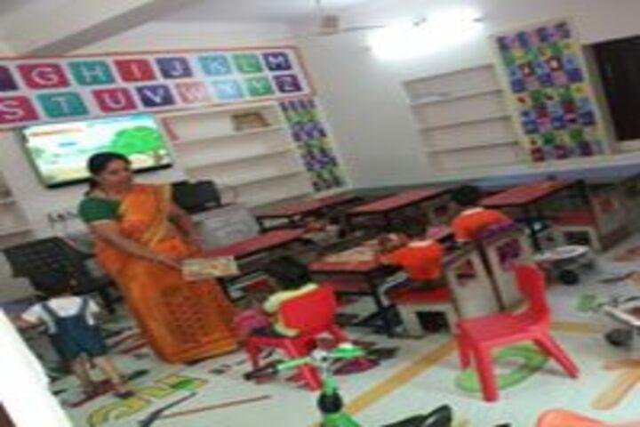 Vidya Global School-Smart classroom