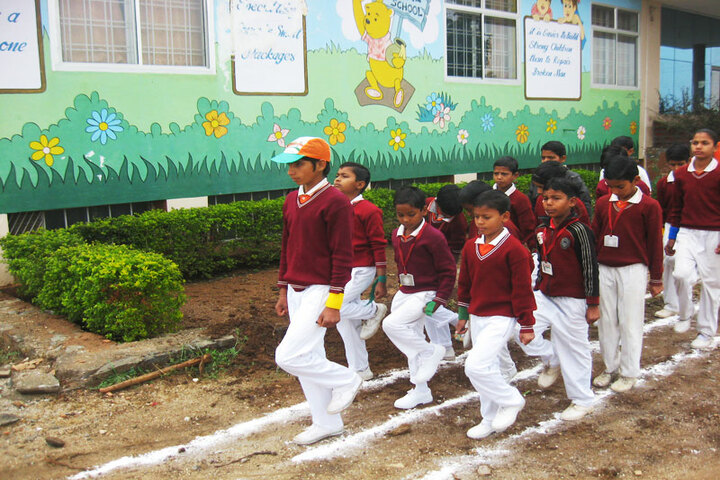 Vidya Global School-Sports Day
