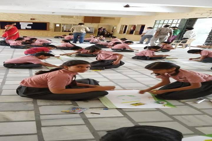 Vimal Vidya Vihar Senior Secondary School-Class Art