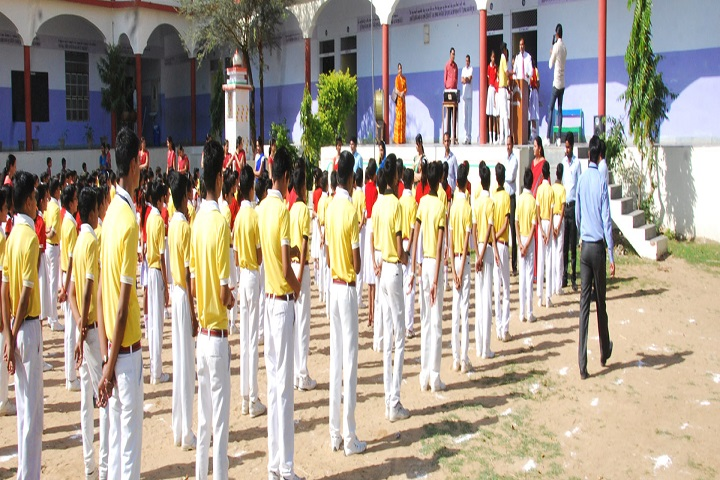 Vinayak International School-Assembly