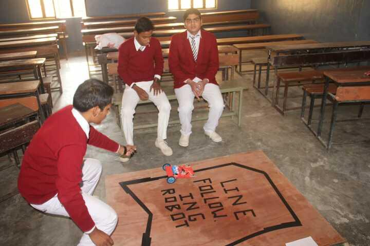 Modern Public School-Classroom