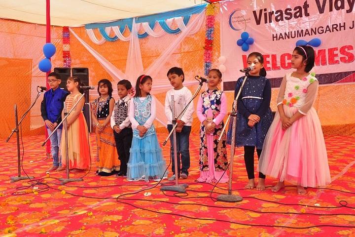 Virasat Vidyapeeth-Singing